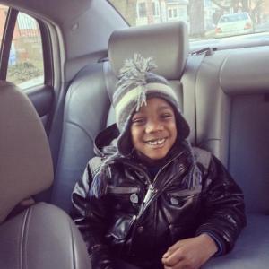 Kierra's son, Desmond.